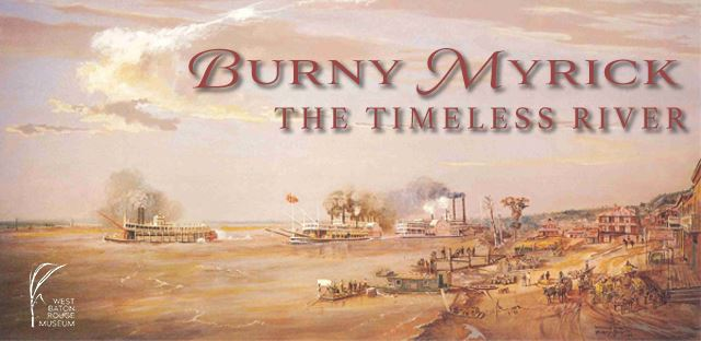 Burny Myrick: the Timeless River Banner
